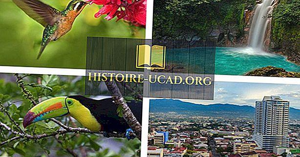 Топ 10 занимљивих чињеница о Костарика