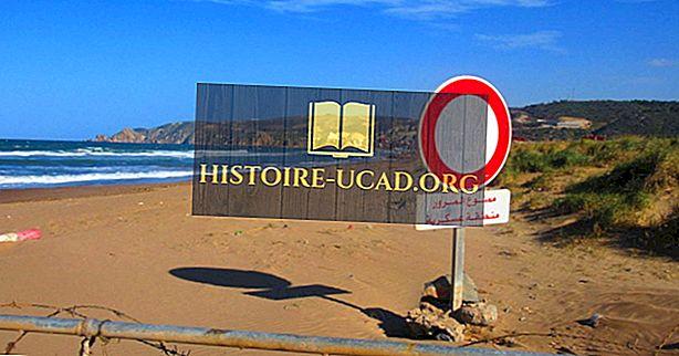 أي بلد يحد المغرب؟