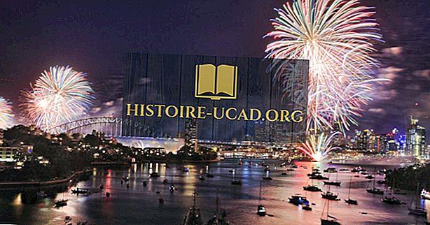 Negara mana yang pertama kali merayakan tahun baru?
