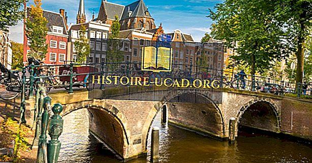 Hvilket land er Amsterdam i?