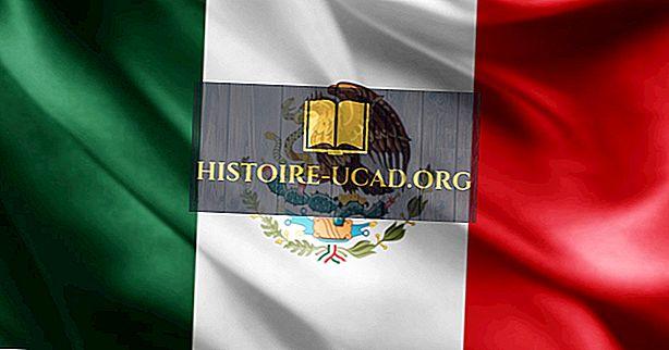 멕시코의 국기의 상징과 상징은 무엇을 의미합니까?