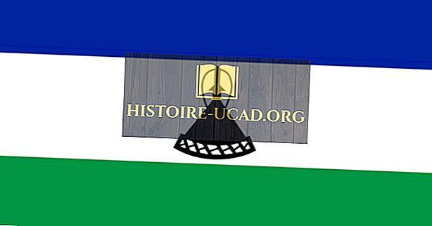 Bendera Fakta dan Makna Lesotho