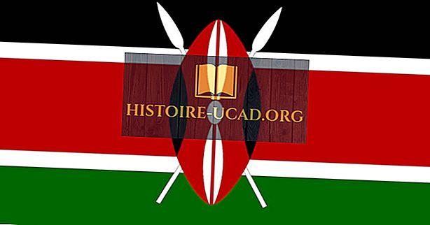 Ko nozīmē Kenijas karoga krāsas un simboli?