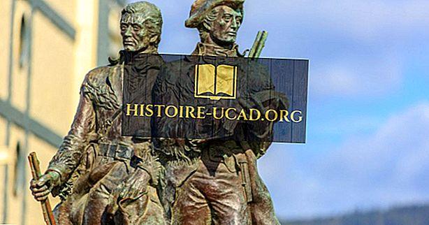 Kokias vietas tyrinėjo Lewis ir Clark?