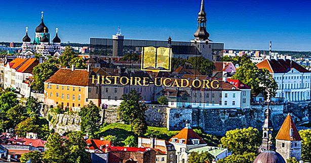 Kaj je glavno mesto Estonije?