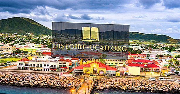 Čo je hlavným mestom Svätého Krištofa a Nevisa?