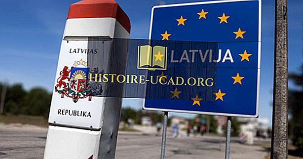 Кои държави граничат с Латвия?