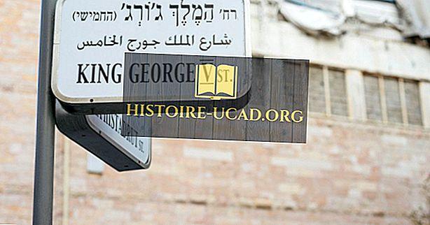Hvilket sprog tales i Palæstina?