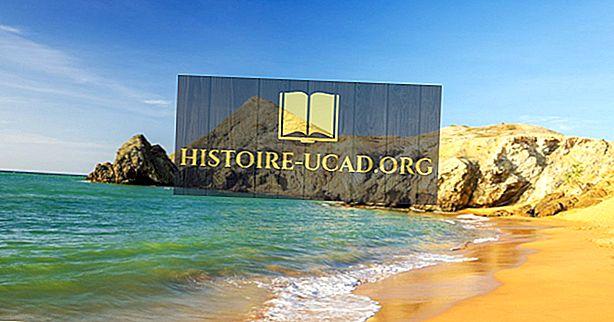 Кои страни имат брегова линия на Карибско море?