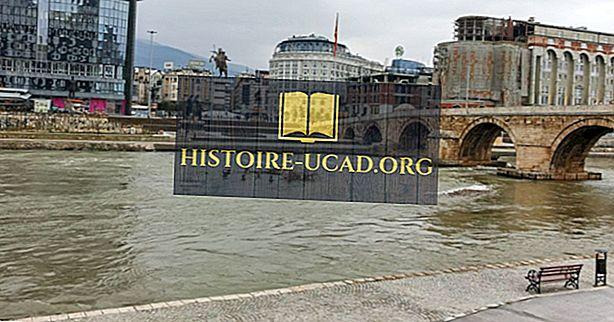 Os rios mais longos da Macedônia