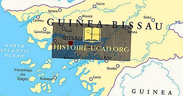 Které země hraničí s Guineou-Bissau?