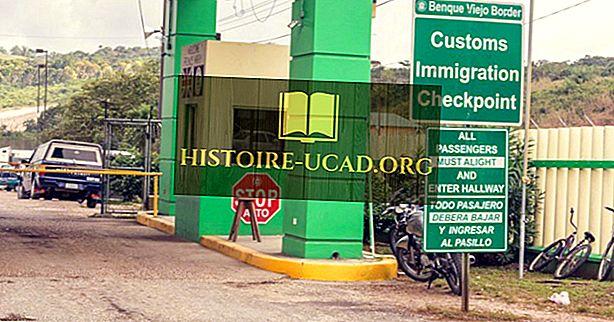 Kuras valstis robežojas ar Gvatemalu?