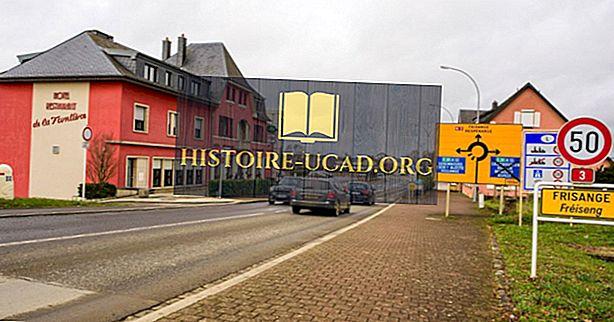 Кои държави граничат с Люксембург?