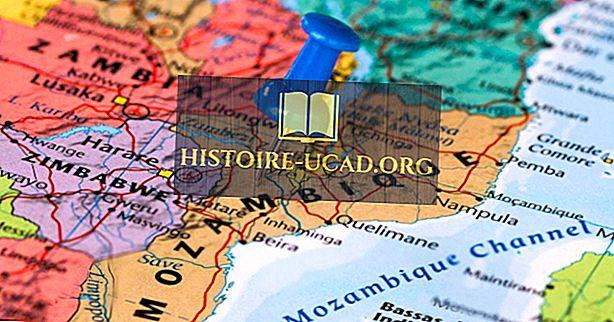 Những nước biên giới Mozambique?