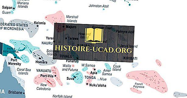 Quels pays insulaires sont situés dans l'océan Pacifique?