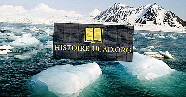 Které země mají pobřeží na Severním ledovém oceánu?