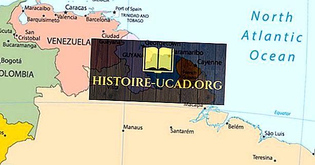 Франкоязычные страны в Южной Америке
