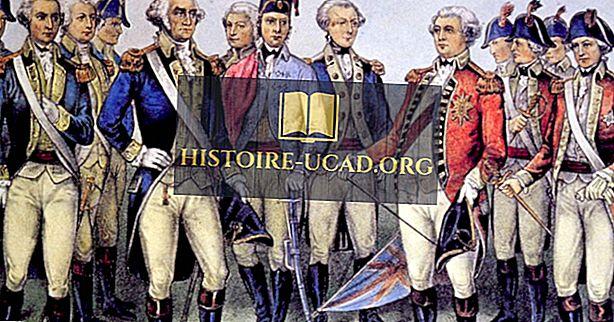 Welche Länder haben im Unabhängigkeitskrieg gekämpft?