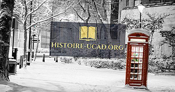 런던에서 눈이 오는가?