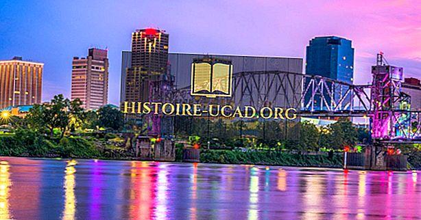 Le 10 città più grandi dell'Arkansas