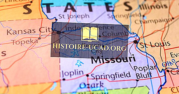 Které státy pohraniční Missouri?