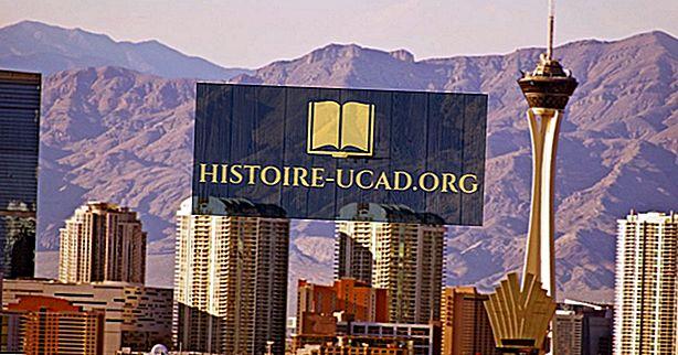 Nevada 10 legnagyobb városa