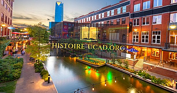 De 10 største byer i Oklahoma