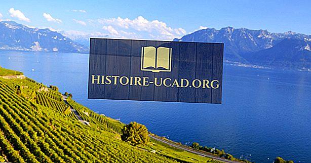 Hvilke land deler Genèvesjøen?