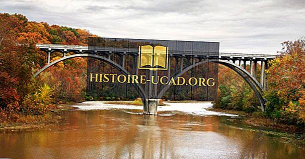 10 ilgiausių upių Ohio