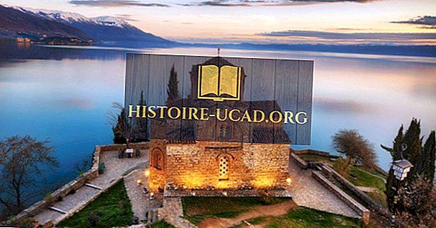 Hvilke land deler innsjøen Ohrid?