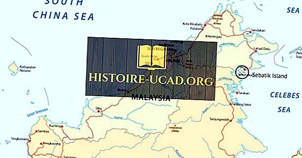 Katere države delijo otok Sebatik?