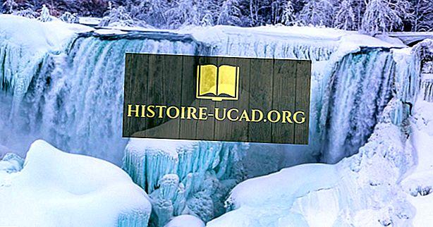 Ali Niagara Falls Freeze?  Je zamrznjen Niagarski slap?