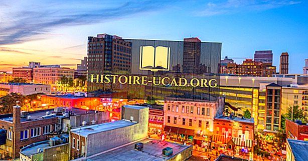 Deset največjih mest v Tennesseeju