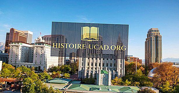 10 suurinta kaupunkia Utahissa