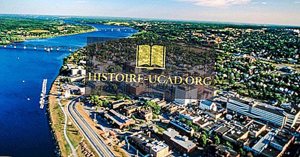 10-те най-големи градове в Ню Брънзуик