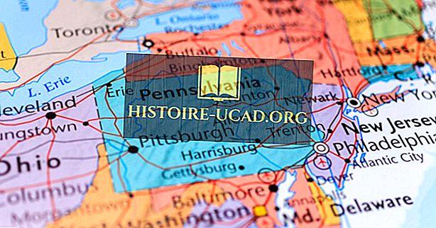 Quels États frontaliers de la Pennsylvanie?