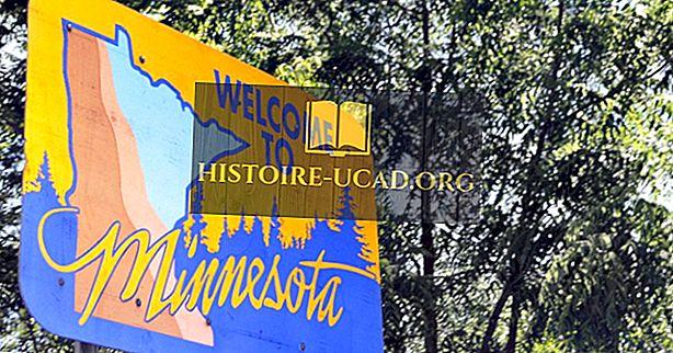 Welke staten grenzen Minnesota?
