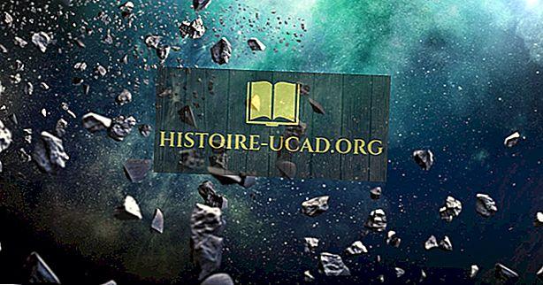Iz česa so izdelani asteroidi?
