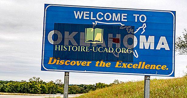 Кои държави граничат с Оклахома?