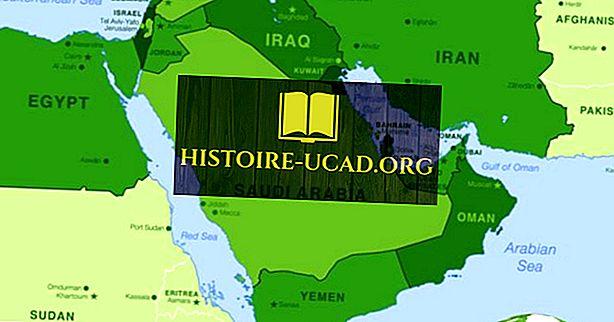 Les plus grands pays du Moyen-Orient