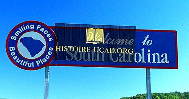 Која држава граничи са Јужном Каролином?