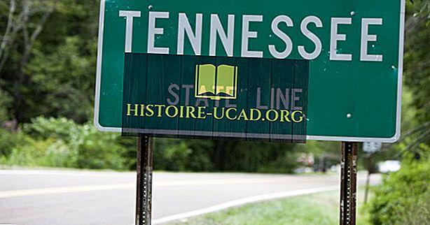 Které státy hraničí s Tennessee?