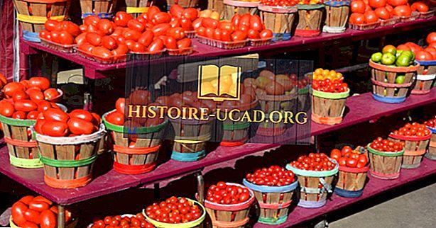 Плодовете са местни в Северна Америка