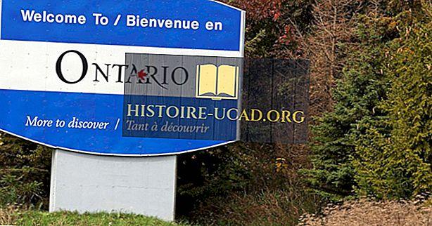 Které provincie pohraniční Ontario?