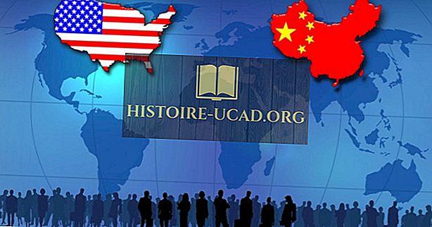 Is China groter dan de Verenigde Staten?