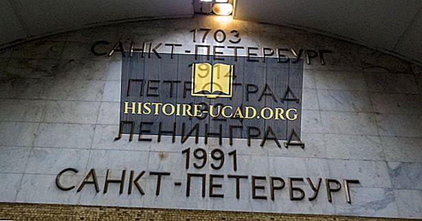 Welke stad werd vroeger Petrograd genoemd?
