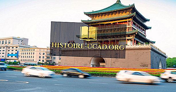 Xi'an - a capital da província de Shaanxi