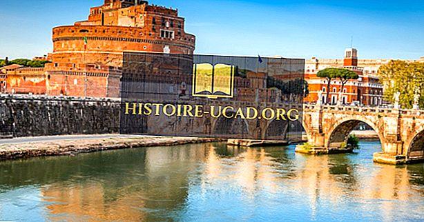 Melyik folyó Róma?