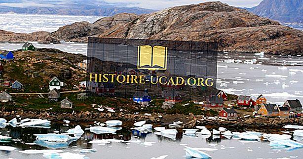 10 најјужнијих насеља у Гренланду