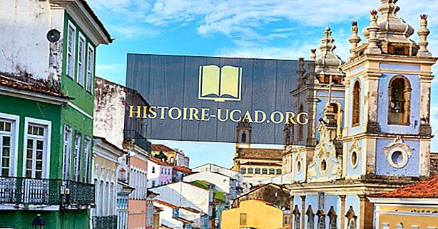 Salvador - La capital del estado de Bahía de Brasil